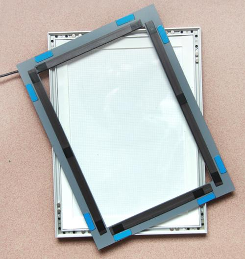 6063 Aluminum Frame 4000LUX 18mm A4 Size Light Box 1